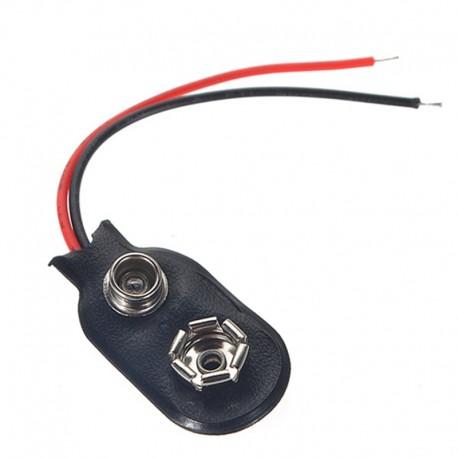 Cable conector para batería de 9V