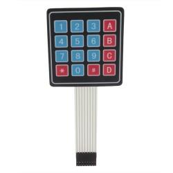 Módulo teclado matricial 4x4 para Arduino