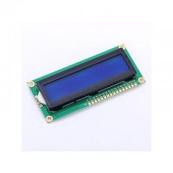 Módulo LCD 16 x 2 caracteres con pantalla verde